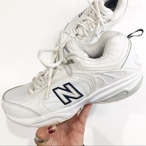 New Balance White Sneakers Size 7.5
